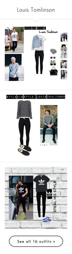 """""""Louis Tomlinson"""" by veronice-lopez ❤ liked on Polyvore featuring Proenza Schouler, Vans, Hollister Co., Topshop, MANGO, Givenchy, OneDirection, 1d, louistomlinson and Payne"""