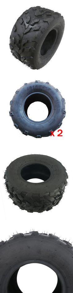 Training Wheels 177839: 2X Rear Front Atv 16X8-7 Tyre Go Kart Knobby Tubeless Tire 50Cc 70 90 110Cc Usa -> BUY IT NOW ONLY: $65.79 on eBay!