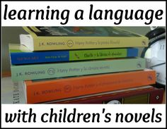 Various ways to use children's novels to learn a language.