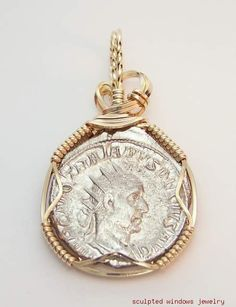 Sculpted Windows Jewelry Journal: Real Ancient Roman Coin Pendants!
