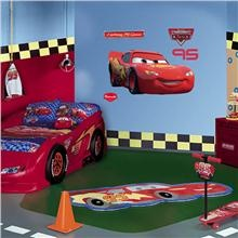 Lightning Mcqueen Fathead Cars Room Car Themed Rooms Car Themed Bedrooms