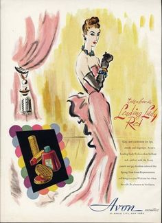 Avon, 1946. Now that's special!
