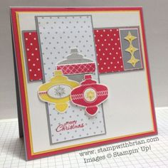 Christmas Collectibles, A Banner Christmas, Petite Pairs, Stampin' Up!, Brian King, PPA166, PP156 by christa