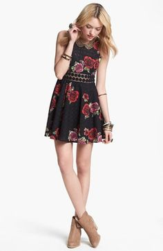 Free People Floral Print Dress | Nordstrom