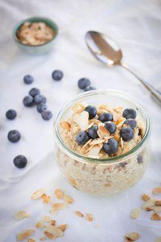 Schnelles Hafer-Porridge in zwei Varianten