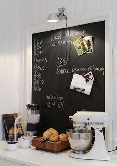Kitchen Blackboard Tabule V Kuchyni Paint Magnetic Chalkboard