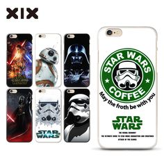 For funda iPhone 5S case 4 4S 5 5S 5C 6 6S 7 Plus Star war PC cover for coque iPhone 6S case new arrivals for capa iPhone 7 case