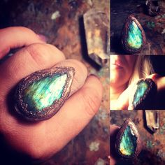 Gemstone Rings, Turquoise, Gemstones, Jewelry, Jewlery, Gems, Jewerly, Green Turquoise, Schmuck