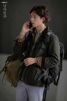 drama – star media :: Park Bo Gum :: / page 2 Love Rain Drama, Park Bo Gum Wallpaper, Park Go Bum, Handsome Korean Actors, Tennis Fashion, Kdrama Actors, Kpop Fashion Outfits, Actor Model, Work Looks