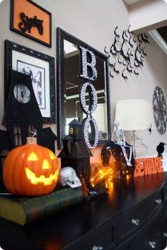 Extraordinary Spooky Easy Halloween Party Decorating Ideas