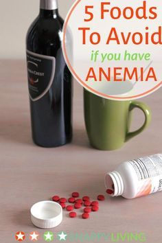 Most of the advice you see online for anemia is about eating foods that are rich in iron. But did you know there are also foods to avoid eating if you have anemia - foods that can deplete your body of iron?