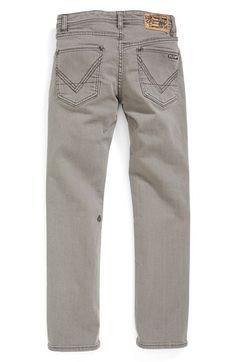 Volcom 'Vorta' Slim Straight Leg Jeans (Toddler Boys & Little Boys) available at #Nordstrom