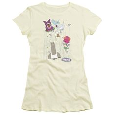 Chowder: Dots Collage Junior T-Shirt