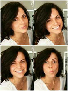 BEAUTIFUL! WITHOUT and WITH makeup. She's just beautiful all the time. *.*