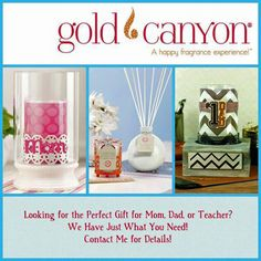 Gold Canyon scented candles, jar candles, wickless and flameless scents, candle holders and more. Gold Canyon Candles, Gold Candles, Scented Candles, Candle Jars, Candle Holders, Perfect Gift For Mom, Gifts For Mom, Paraffin Wax, House Smells