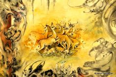 DSC_3528persian Art Caspar David Friedrich, Brian Froud, Helen Frankenthaler, Iranian, Great Artists, Mythology, Persian, Art Work, Oriental