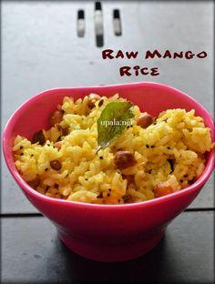 Raw Mango Rice http://www.upala.net/2015/04/raw-mango-ricemanga-saadam.html