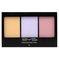 Highlighting Trio Palette Luminous - Illuminator - Face - Shop -$7.95