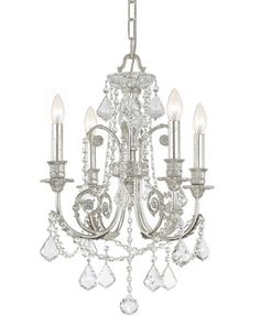 H7YFU Delphine 4-Light Chandelier