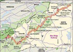 """North Carolina Scenic Drives: Blue Ridge Parkway"" - TLC Family"