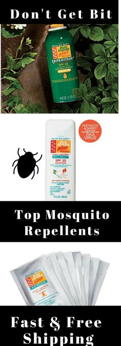 BEST Mosquito Repellents that work - DON'T GET BIT! Fast & Free Shipping on $40 Avon orders. Helps protect your children & family from West Nile & Zika.