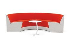 Offecct KING kanepe bekleme ve dinlenme alanları için en uygun ürünlerden biri