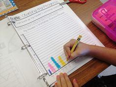Classroom Systems That Work!  First Grade Data Binder {student portfolio/goal setting}