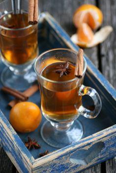 Hot spiced/mulled cider 1 bottle (75 cl), natural apple cider 100 g of ...