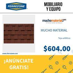#MobiliarioYequipo #TejaAsfáltica http://www.ferrezone.mx  El mercado ferretero de México Anúnciate gratis