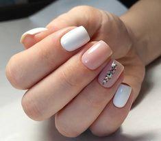 Polygel Nails, Pink Nails, Hair And Nails, Short Square Nails, Nagel Gel, Perfect Nails, Nails Inspiration, Beauty Nails, Summer Nails