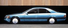 OG   1991 Mercedes-Benz S-Class - W140   Full-size design sketch
