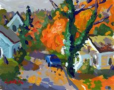 "Charles Sovek, Artist and Author | Exhibition Gallery | ""Autumn Delight: New Oils and Acrylics"""