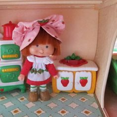 Kitchen Sink for Strawberry Shortcake Berry Happy Home Dollhouse by BrownEyedRose