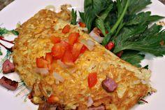 Hashbrown Omelet - DELISH!
