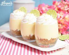 Cheesecake+de+pie+de+limón,+una+receta+super+sencilla+sin+horno+y+que+solo+lleva+6+ingredientes+de+Anaisa+Lopez+de+annas+pasteleria!!+-+No+bake+key+lime+pie+cheesecake+recipe+with+only+6+ingredients+<3++from+annaspasteleria.com