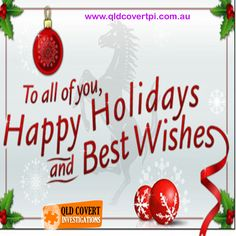 Licensed Private Investigators Brisbane and Gold Coast Happy Wishes, New Year 2017, Private Investigator, Gold Coast, Brisbane, Happy Holidays, Activities For Kids, How To Find Out, Christmas Bulbs