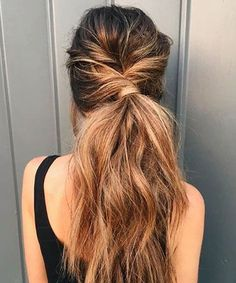 Beautiful Twisted Pony for Long Hair for Women