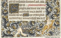Book of Hours, MS M.854 fol. 109r - Images from Medieval and Renaissance Manuscripts - The Morgan Library & Museum