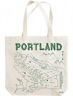how cute! its a map of the neighborhoods of portland!