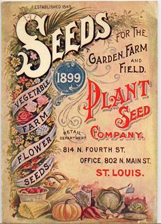Seeds for the Garden, Farm, and Field (1899)