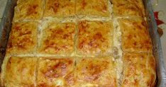 Greek Recipes, Veggie Recipes, Vegetarian Recipes, Cookbook Recipes, Cooking Recipes, Greek Cookies, The Kitchen Food Network, Puff Pastry Recipes, Happy Foods