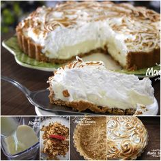 E o que tem para hoje? Tem Torta de Limão! A melhor, a mais mais, a TOP das receitas, pode confiar! http://www.montaencanta.com.br/sobremesa-2/torta-de-limao/