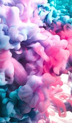 Colorful Clouds Wall