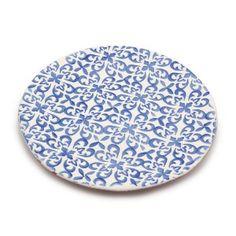 Granada Dinner Plate 27cm Blue D1 Front