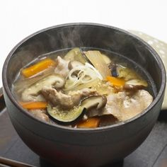Japanese soup good for winter time.