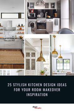 Kitchen Ideas, Kitchen Decor, Kitchen Design, Kitchens, Rooms, Ceiling Lights, Meals, Inspiration, Retro