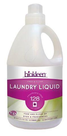 Biokleen Free & Clear Laundry Liquid 128 HE Loads, 64 Ounce (Pack of 6) Bi-O-Kleen http://www.amazon.com/dp/B0017L9926/ref=cm_sw_r_pi_dp_NPgrub0V73W7N