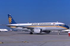 British Caledonian Airways Airbus A320-100