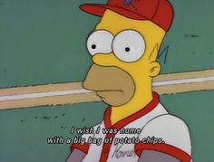 When he had the correct reaction to team sports. | 24 Times Homer Simpson Was Right