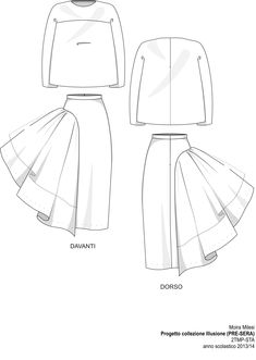 Drawn fashion technical sheet - pin to your gallery. Explore what was found for the drawn fashion technical sheet Fashion Flats, Fashion Art, Trendy Fashion, Fashion Dresses, Fashion Design Drawings, Fashion Sketches, Drawing Fashion, Mode Adidas, Modelista
